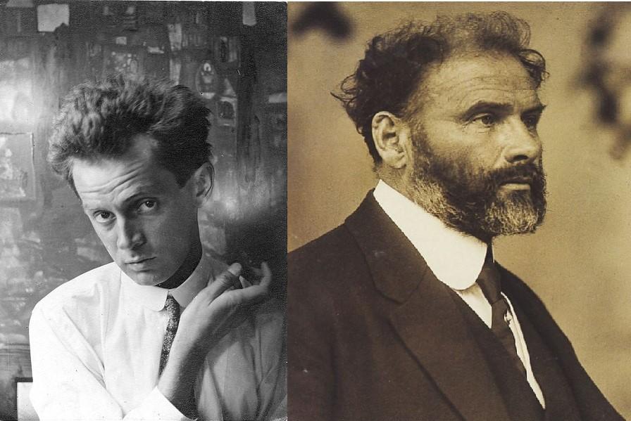 Gustav Klimt ed Egon Schiele | I due volti della natura umana
